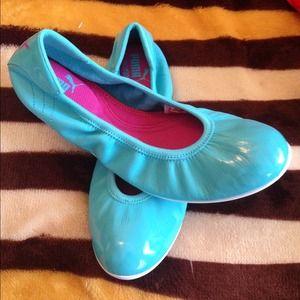Puma flat shoes.