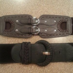 Charming Charlies Accessories - TWO Brand new belts!