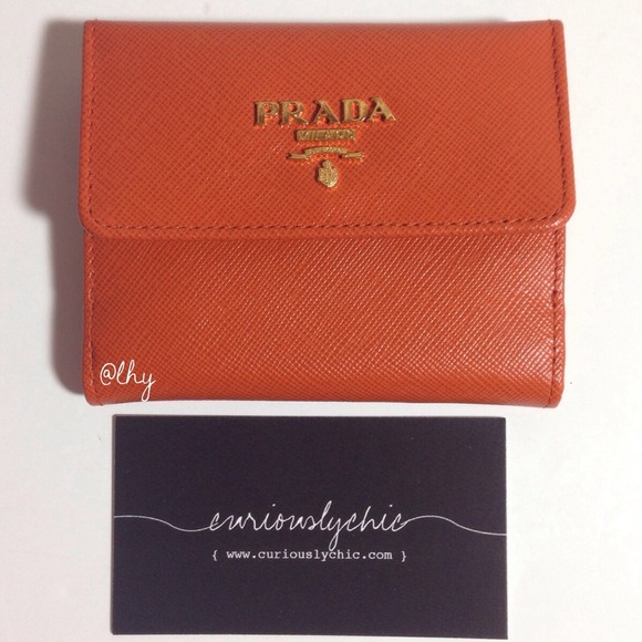 Prada Saffiano Wallet Bifold ❌sold❌prada Bifold id Wallet