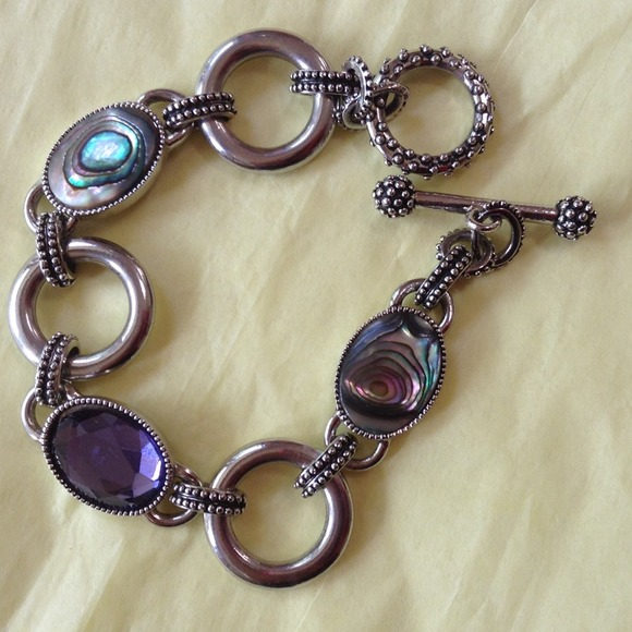 40 off lia sophia jewelry abalone pearl bracelet lia
