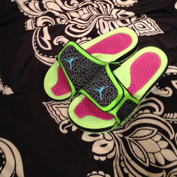 1d2ea3359e505d Nike Shoes - Jordan s bel air slides M9 W10 11