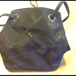 Dragonfly butterfly bag