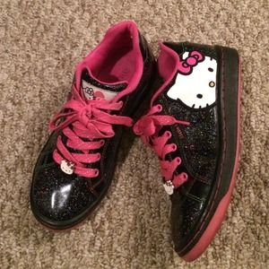 Auth Woman Hello Kitty 36.5 made in Japan!