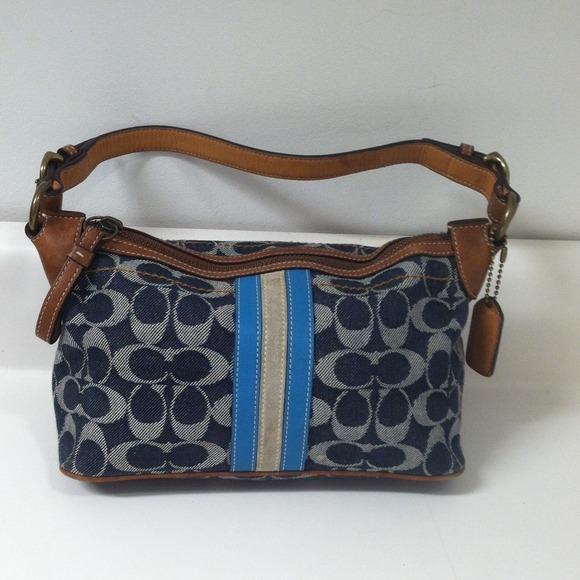 Coach Handbags - Coach denim bag 30dbaa2ff1e49