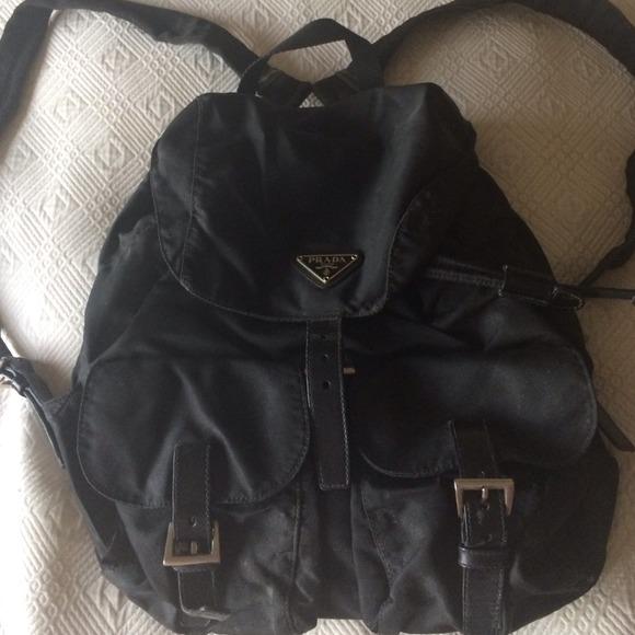 Prada nylon mini backpack. M 536ccfa31b865a31bb055eee 3ece858015