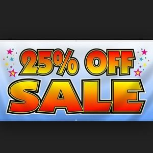 Spring Is Here Sale! 25% off and 30% off bundles!!