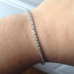 NWOT: SS 925 Bracelet with CZ FINAL REDUCTION