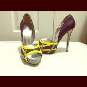 ShoeDazzle platform high heels