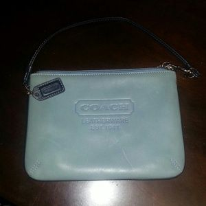 COACH wristlet and matching handbag