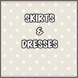 DRESSES 🔷 SKIRTS