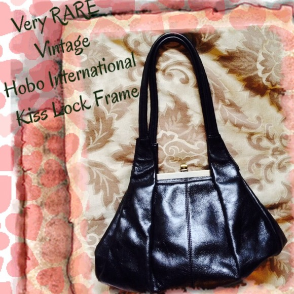 80% off HOBO Handbags - 👛SALE💫HOBO International RARE Kiss Lock ...