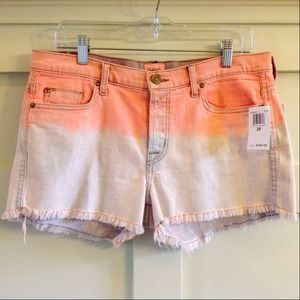 Hudson Jeans Denim - HUDSON dip dye denim shorts NWT
