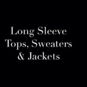 Tops - Long Sleeve Tops, Sweaters & Jackets
