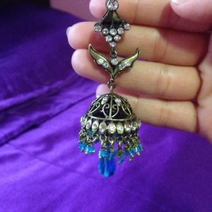 Gorgeous Bollywood chandelier earrings