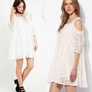 🎉2x HP🎉White babydoll dress