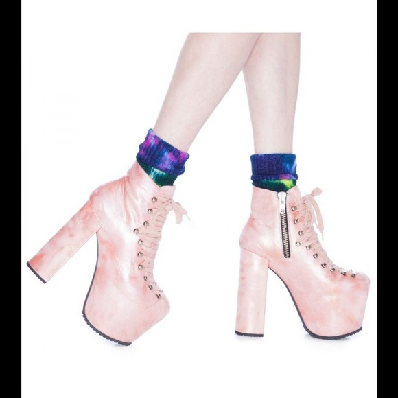 3e3ebf407d1 The Hellbound Platform in Mermaid Pink by UNIF