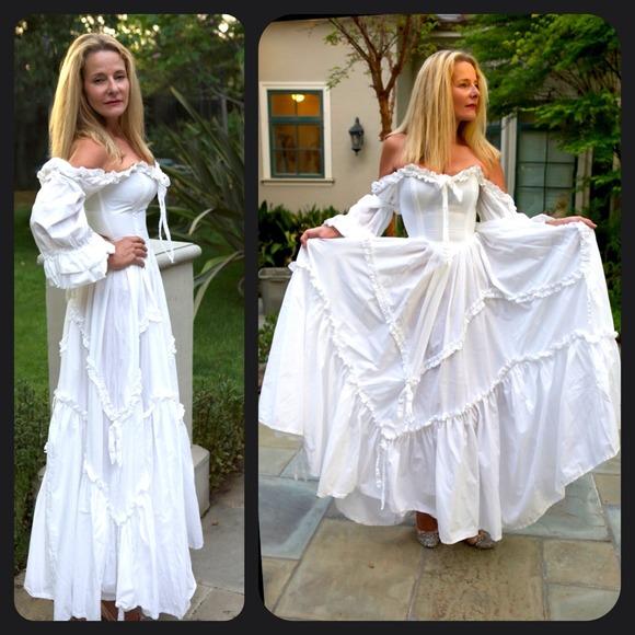 68 off vintage laura ashley dresses skirts vintage for Ashley jordan wedding dress