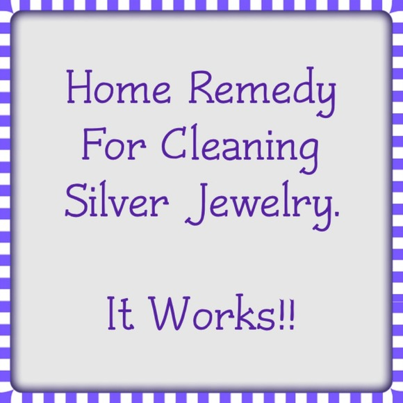 Homemade Remedy For Cleaning Silver Jewelry. OS from Top ...