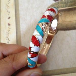 Jewelry - ⚠Teal red bracelet