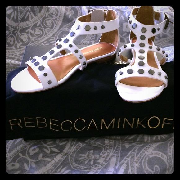 Rebecca Minkoff Shoes - ⚡️SALE⚡️ Rebecca Minkoff white sandals