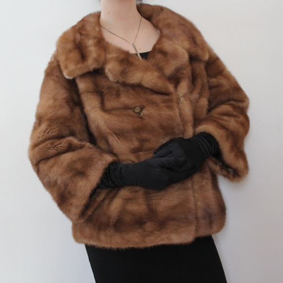 Furs by Robert, Detroit - 💯 Authentic Vintage Mink Fur Coat from ...