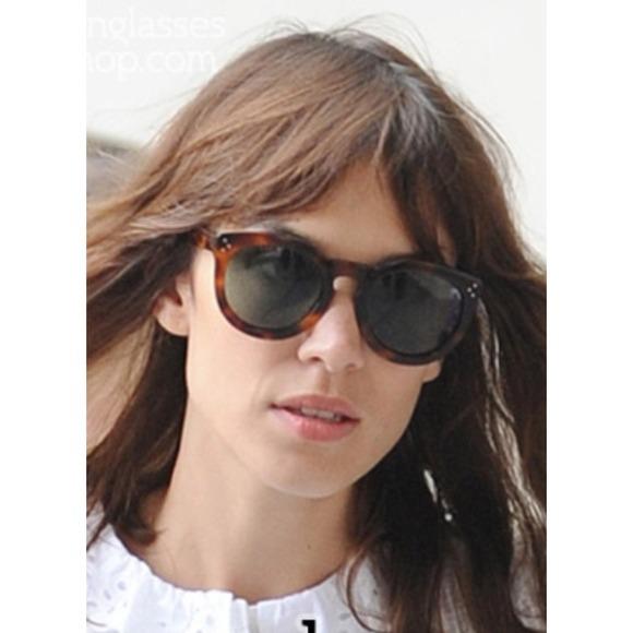fa9841ef607d Celine Marta Sunglasses Tortoiseshell