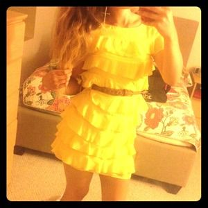 Dresses & Skirts - yellow dress