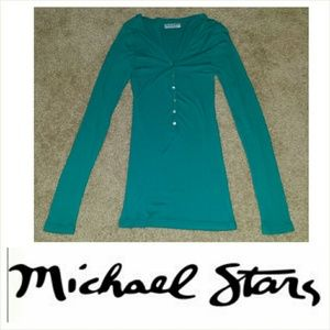 Michael Stars Tops - Michael Stars Teal Shirt, One size fits all