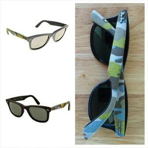 3f593dd577f22 Ray-Ban Accessories - NEW Ray-Ban Wayfarer Urban Camouflage RB2140
