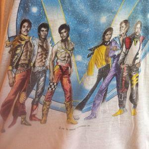 vintage Tops - Jackson 5/Michael Jackson 1984 victory tour tee