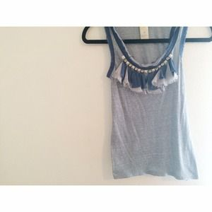 Free people ruffle tank