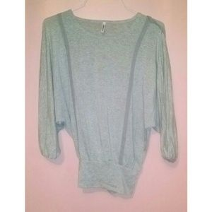 NEW Batwing Gray Sweater