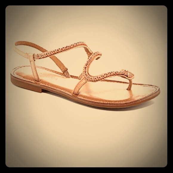 1116235c369 Antonio Melani Shoes - 🎉🎊HP🎉🎊Antonio Melani Rosegold Snake Sandals!