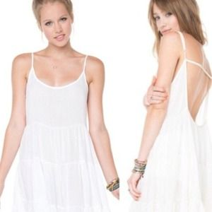 Brandy Melville White Jada Dress