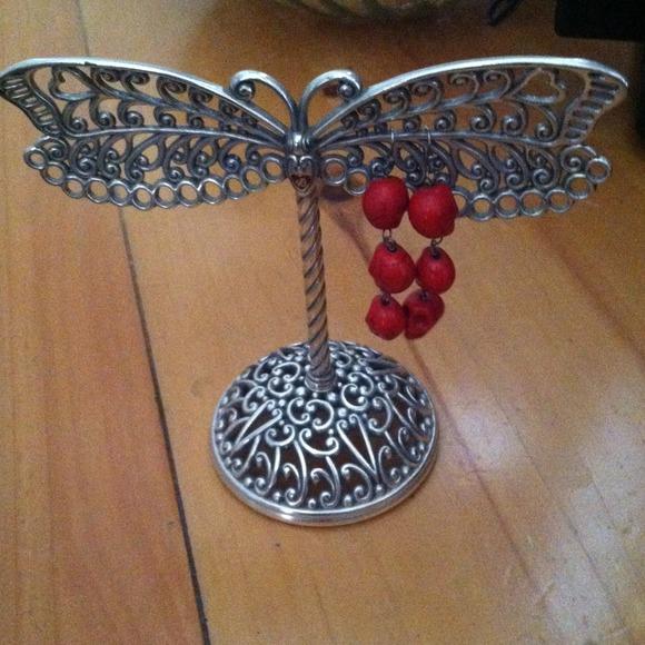 Brighton brighton earring holder from elizabeth 39 s closet for Brighton badge holder jewelry