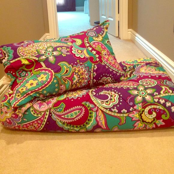 Vera Bradley Other Reversible Comforter In Heather Poshmark