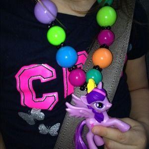 Retro Custom My Little Pony Necklace