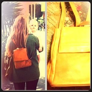 PoshFind: leather backpack from @hwnmerghart7!