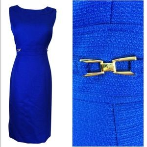 Cobalt/Royal Blue Sleeveless Dress