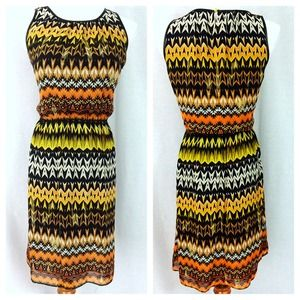 Vince Camuto Tribal Design Dress