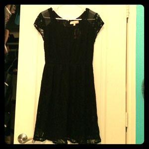 Monteau Dresses & Skirts - NWT Black lace dress