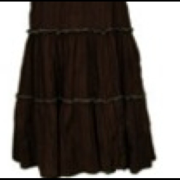 7 dresses skirts new below the knee brown summer