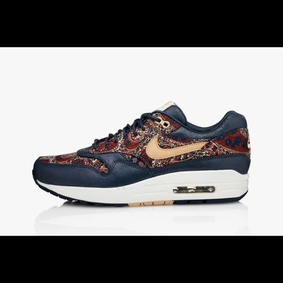 quality design 3a0ae 0b4e9 Nike air max liberty London paisley