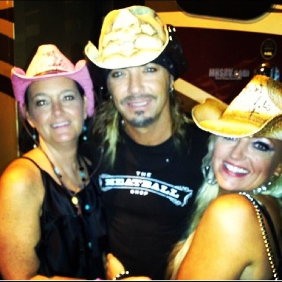 eb8419a2462a6 Accessories - 🎤 BRET MICHAELS stage-worn and signed cowboy hat!