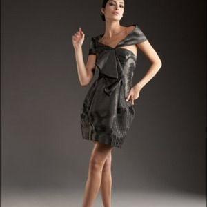 Robert Rodriguez Black Label Off theShoulder dress