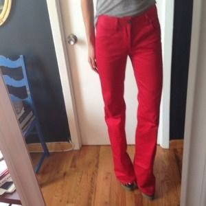 DSQUARED Pants - RED DSQUARED PANTS