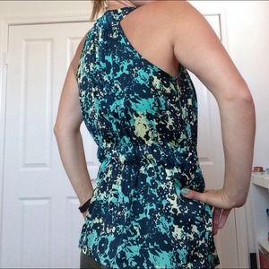 LC Lauren Conrad Tops - LC Lauren Conrad Floral Sleeveless Blouse