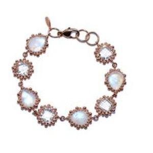 anzie Jewelry - Anzie clear topaz & moonstone bracelet