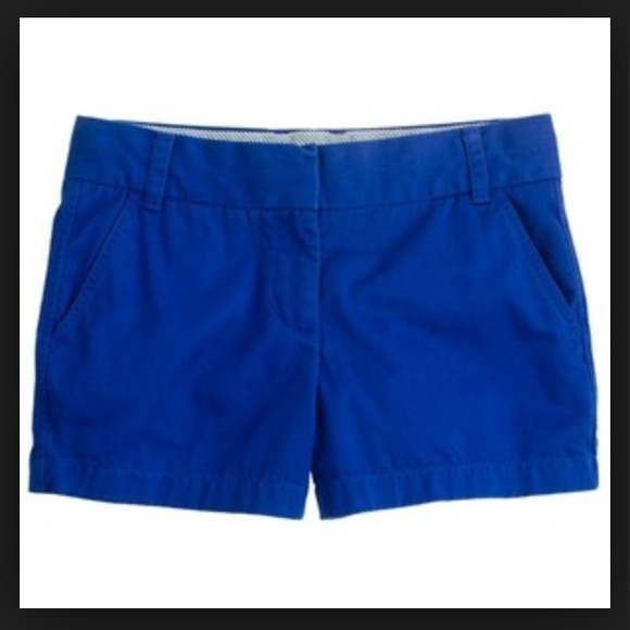 J. Crew - J.Crew Chino Shorts in Cobalt Blue from Carly's closet ...