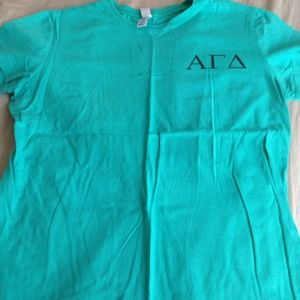 Other - 2 Lettered Short Sleeve AGD Shirts